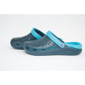 Подростковые Сабо crocs-03 т.син-бирюза