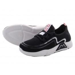 Детские кроссовки 202-1 черно-белый - фото 2