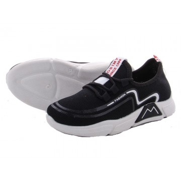 Детские кроссовки 202-1 черно-белый