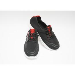Детские кроссовки 202-3 черн-красный - фото 2