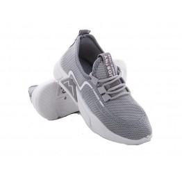 Детские кроссовки 202-7 серо-белый - фото 2