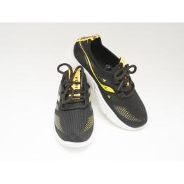 Детские кроссовки 203-2 черн-желтый - фото 2