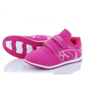 Детские кроссовки А-2-2 розовые