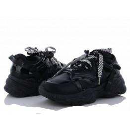 Женские кроссовки 1153-3 черный - фото 2