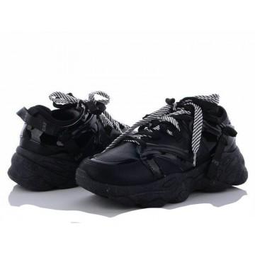 Женские кроссовки 1153-3 черный