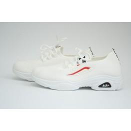 Женские кроссовки 512-2 белые - фото 2