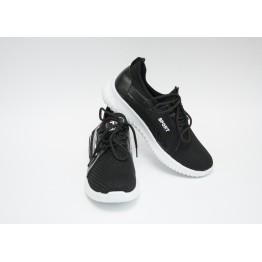 Женские кроссовки 516-1 черный - фото 2