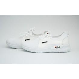 Женские кроссовки 516-2 белый
