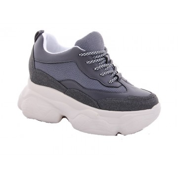 Женские кроссовки 56-10 серый