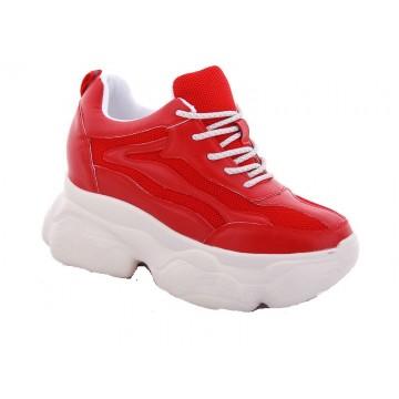 Женские кроссовки 56-6 красный
