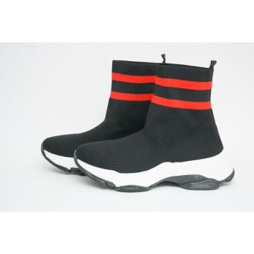 Женские кроссовки А-32-1 черный