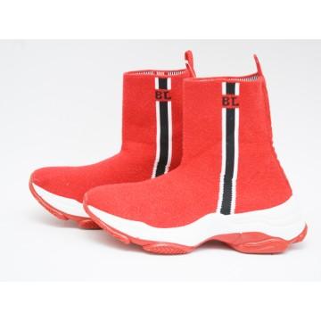 Женские кроссовки А-34-2 красные