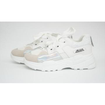Женские кроссовки АМ-7-2 белый