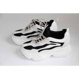 Женские кроссовки В-206-1В белый