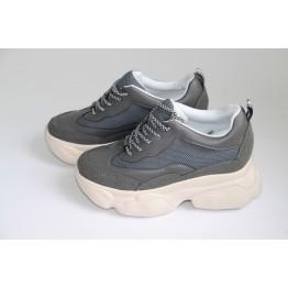 Женские кроссовки В-206-2С серый