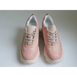 Женские кроссовки В-206-2D пудра