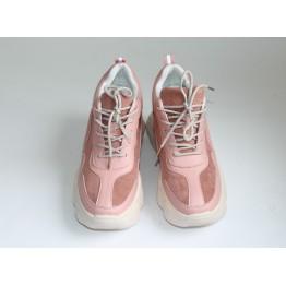 Женские кроссовки В-206-6С пудра