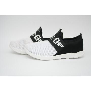 Женские кроссовки Ж-12 черно-белый