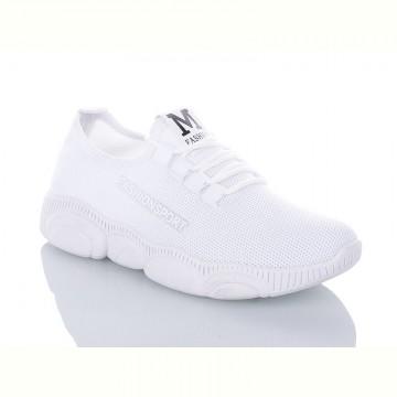 Женские кроссовки М-718 белые
