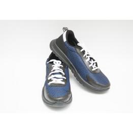 Мужские кроссовки 2040 синий ЧП - фото 2