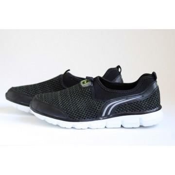 Мужские кроссовки 872-3 т.син