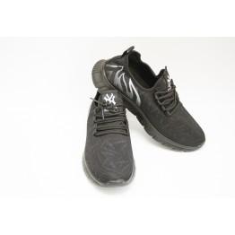 Мужские кроссовки 89107-1 черн-белый - фото 2