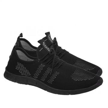 Мужские кроссовки КА-933 черн-серый