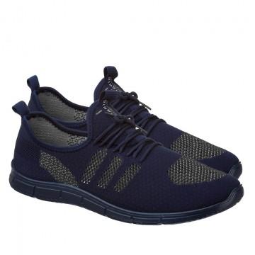 Мужские кроссовки КА-933 сине-серый