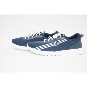 Мужские кроссовки М-2021 синий БП