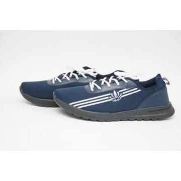 Мужские кроссовки М-2021 синий ЧП