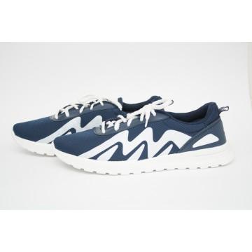 Мужские кроссовки М-2022 синий БП