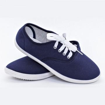 Женские мокасины S-11 синий