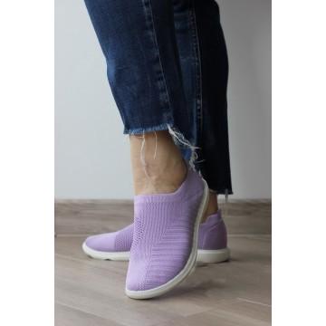 Женские мокасины ТСА-17 фиолет ПБ