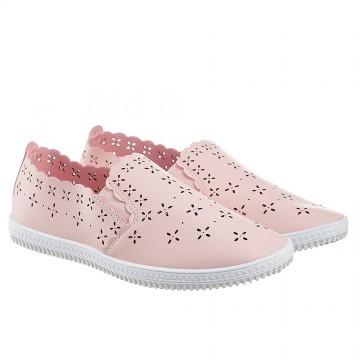 Женские мокасины SD-527 розовый