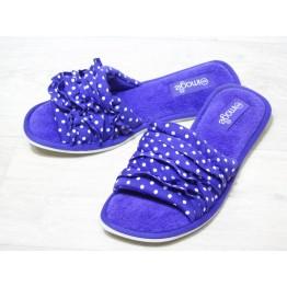 Домашние тапочки 6039 фиолет
